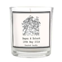 1805 - 1874 Old Series Map Home Scented Jar Candle